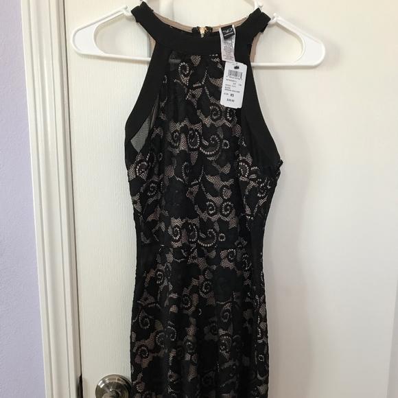 e0e8eab1f3c Brand new black lace short dress. NWT